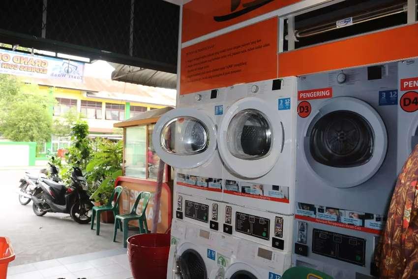 Jasa Laundry Coin Express (siap 1 jam) 0