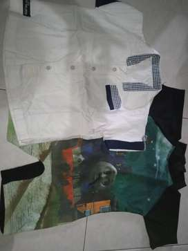 Paket baju anak laki umur 3-5 tahun merk carters, cool kids,popeye dll