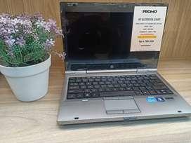 LAPTOP BEKAS, SECOND LELANGAN KANTOR HP ELITBOOK SPEK CORE I7 SSD 128G