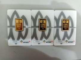 Jual emas antam certi 5 gram