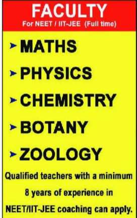 JEE NEET Teachers wanted