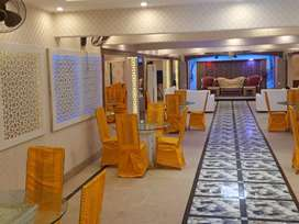 Banquet hall 10 crore 4 lacs rented