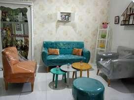 Sofa pelangi minimalis