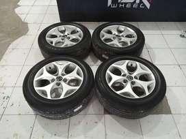 Velg mobil bekas STD MAZDA BIANTE R16+BAN terios,luxio,innova,new cary