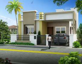 2bhk in 1800sq feet plot