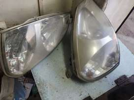 Indica head light very good condition.and original part