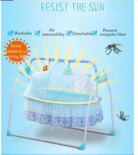 Electric cradle swing for  new born babies