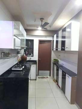 Beautiful 3 Bhk semi furnished flat near Mavdi,Bapa Sitaram Chowk