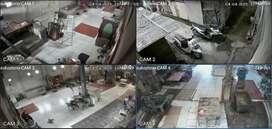 Diskon CCTV Murah Paket XVI 4 kamera 2mp