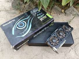 Nvidia Gforce Gtx 760 2Gb - 256 bits gigabyte 3x fans with box