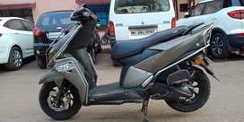 Tvs ntorq grey colour well mentain scooter..