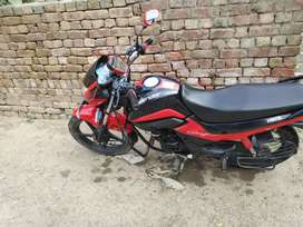 New Condition Hero splendor ismart 110 cc. Selfstart