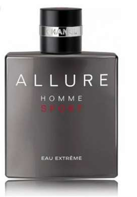 Non box allure homme extreme by chanel 100ml