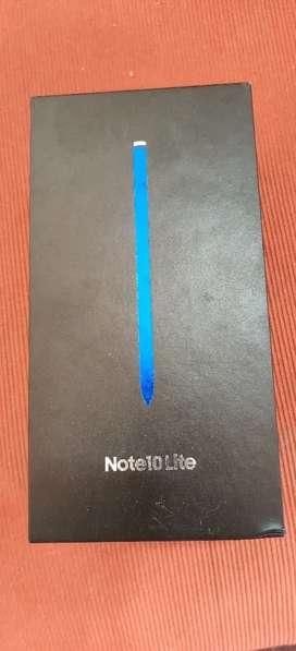 Samsung note 10 lite 8gb 128gb complete Box good condition