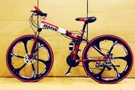 BMW 21 Gear Folding Cycle Mac Wheel Shimano Gear box