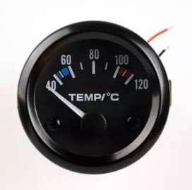 Indikator radiator Temperatur Panas thermometer gauge Mesin 12v