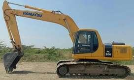 Jual Alat Berat Excavator Komatsu model PC200-6