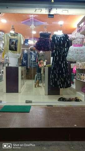 Ladies garment shop for sale