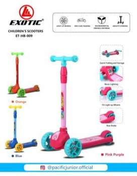 Mainan Anak Skuter Otopet Exotic ET HB 009