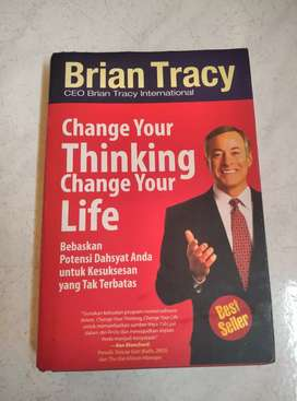 Buku Hard Cover 2nd CHANGE YOUR THINGKING CHANGE YOUR LIFE