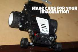 Tools to make cars of your imagination to improve creativity of kids