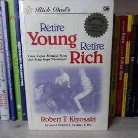 Buku Rich Dads Retire Young Retire Rich by Robert T. Kiyosaki