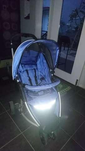 Stroller cocolatte biru