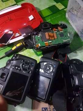 Service servis af autofocus lensa kit 18-55mm canon dan kamera