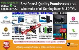 Gaming Items PS4,PS3,PS2,XBOX,Switch,Vr|Best Unbeatable PriceChallenge