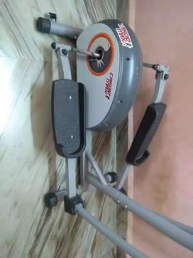 Elliptical trainer machine for fitness purpose