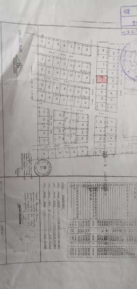 Plot in Sarim Nagar plot area 1614 sqft