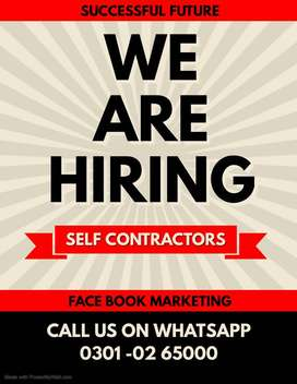 We are hiring males and females for face book marketing work