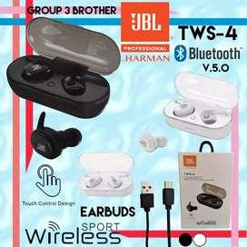 Earphone Bluetooth / Earphone Wireless TWS-4