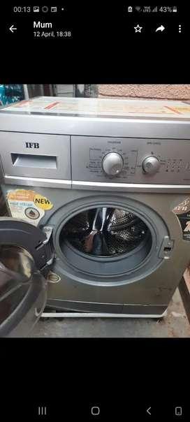 Washing machine ifb front load