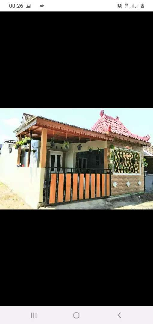 Rumah Cantik Asri Murah dalam Perum di Banguntapan 0