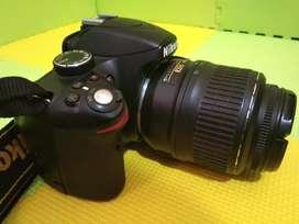 Jaual gan Kamera NIKON D3200 Lensa AF-S 18-55 mm