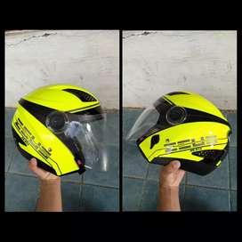 Zeus Z8-610 Half Face (Yellow/List black) size L