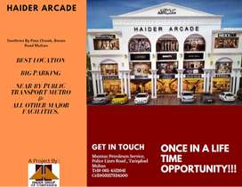 Haider Arcade Shops and Offices. Rent starting from Rs.100,000