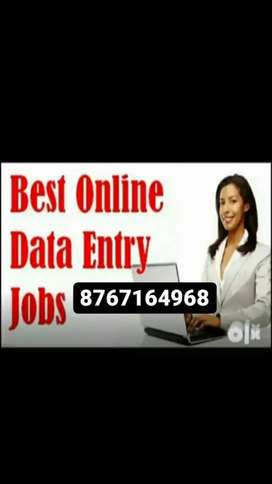 Computer Operator /data Entry Operator /work from Home /part time Jobs