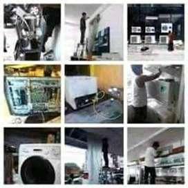 Resky Jaya Teknik service panggil Ac, Kulkas,dan Mesin cuci Bergaransi