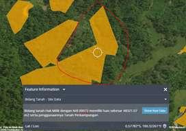 Jual tanah 10.000/m²
