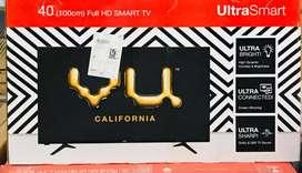 VU 40 SM ULTRA SMART LED TV WITH VU INDIA 1 YEAR WARRANTY