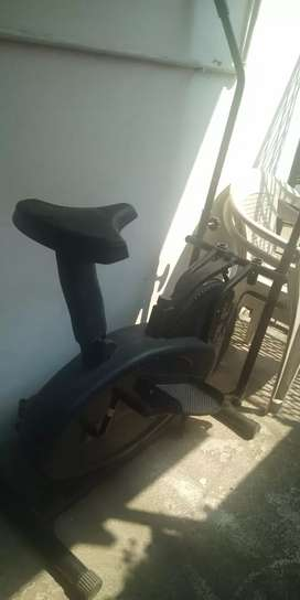 Cosco fitness elliptical bike with seat