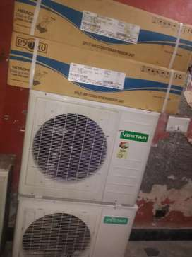 BRAND NEW 2.0 TON SPLIT AC FACTORY 2ND LOT ONLY RS 32000