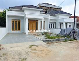 Dijual rumah modern mewah baru tanah luas bandar lampung