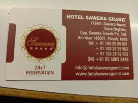 Required staff for hotel restaurant