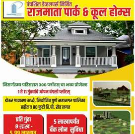 Bunglow Plot in Theur at Rs.4.99lac (Loan Available)