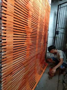 Penjual semua tirai dari bambu,kayu ,rotan