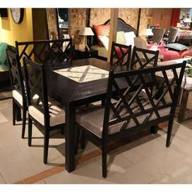 Search over Dining table set Very Luxury Very Stylish Choice