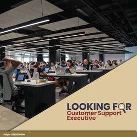 Hiring Customer Support Executive